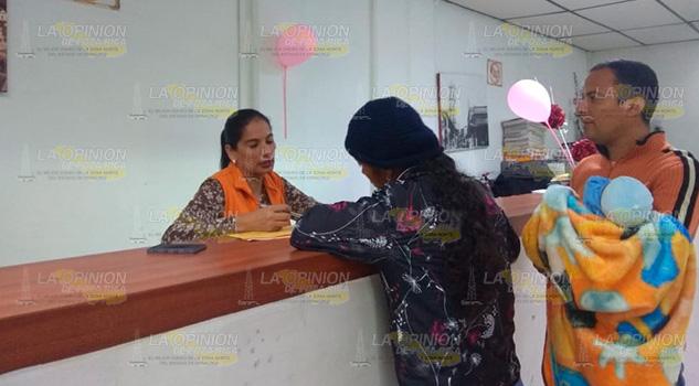 Escasean hojas certificadas de registro en Tuxpan