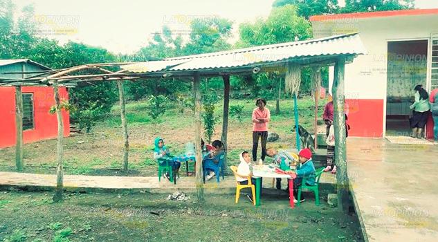 Exigen Mejoras Kínder Comunidad Cerro Azul