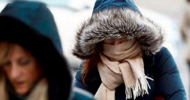 Frente frío se extenderá por el país, habrá descenso de temperatura