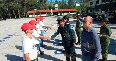 Integran Reserva Nacional 124 Soldados SMN Cerro Azul