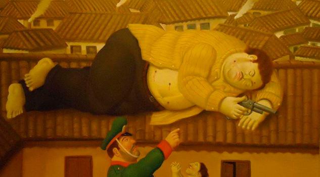 La historia detrás de los cuadros que pintó Botero sobre Pablo Escobar
