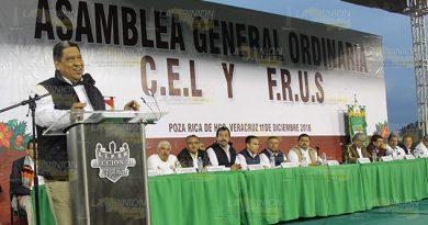 Petroleros destacan unidad en asamblea