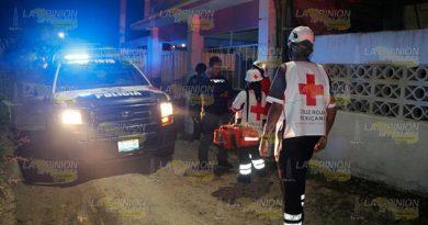 Reportaron a mujer herida en la colonia Insurgentes