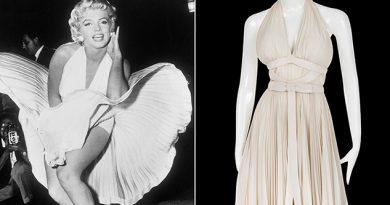 Vestido de Marilyn Monroe se vuela la subasta en LA