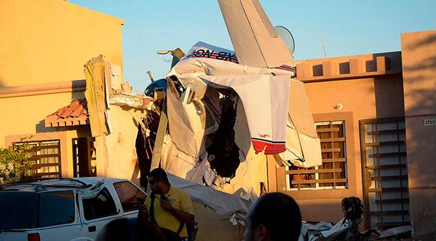 Se desploma avioneta en Sinaloa; mueren cuatro