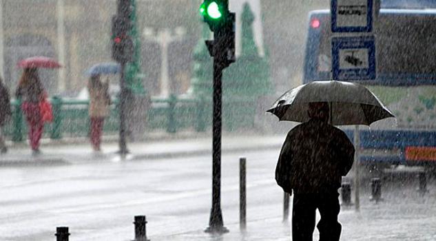 Se prevén lluvias fuertes por Frente Frío