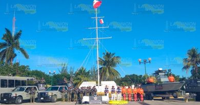 Semar pone en marcha operativo Salvavidas en Tuxpan