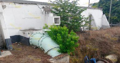 Tanque fracturado amenaza 3 colonias en Tuxpan