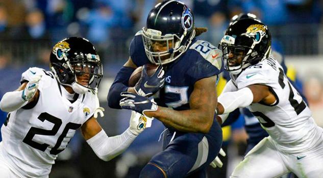 Tenessee consigue contundente triunfo contra Jacksonville en la S14 de NFL