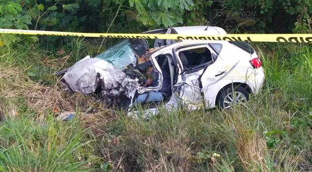 Un Muerto y 4 heridos rumbo a Vega de Alatorre