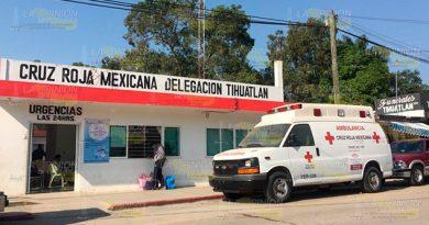 Unidad de la Cruz Roja parada por falta de mantenimiento