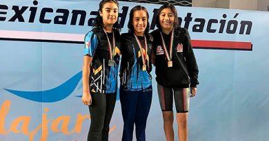Veracruz tiene un arranque dorado en el Nacional Elite de Natación 2018