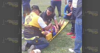 Estudiantes lesionadas en Naranjos