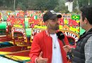 Mike Bahía está en México y visitó Xochimilco