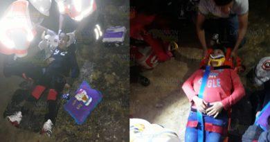 Familia de Nuevo Leon se accidenta en la Tuxpan-Tampico