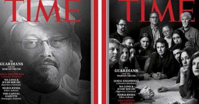 Revista Time nombra a periodistas Personas del Año