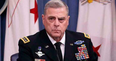 Trump nombra al general Mark Milley jefe del Estado Mayor Conjunto
