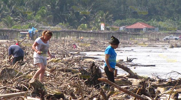 ¡Peligro y desastre¡ en Tuxpan