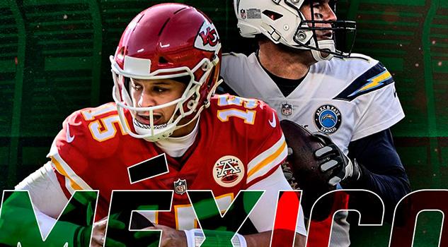 ¡Confirmado! Chiefs y Chargers jugarán NFL México en 2019