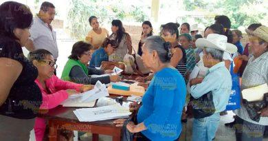 Último día del censo de adultos mayores para el programa de Bienestar en Coyutla
