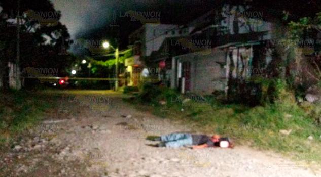 ¡APUÑALADO! Le arrebatan la vida a jornalero en Martínez de la Torre
