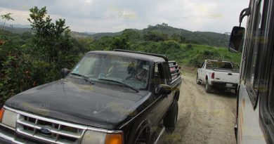Abandonada la vieja vía Tihuatlán - Álamo