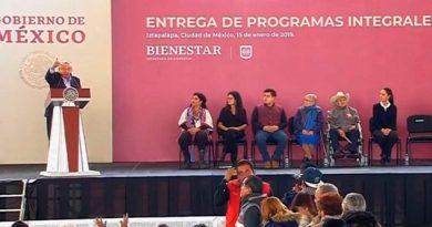 Anuncia López Obrador 1 millón de Tandas para el Bienestar