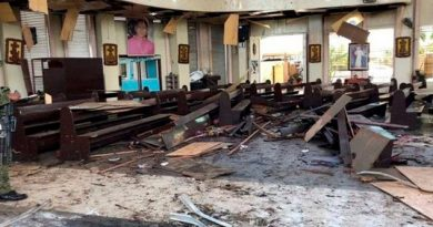 Ataque con dos bombas deja más de 20 muertos en una iglesia de Filipinas