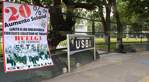 Aumento y no huelga, confían docentes de UV