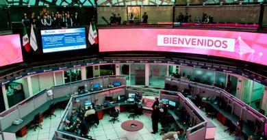 Bolsa Mexicana sube, ante incertidumbre por cierre de gobierno en EU