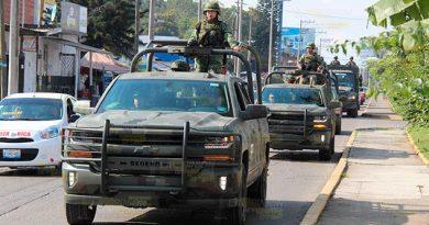 Buscan militares recobrar la paz en la zona norte de Veracruz