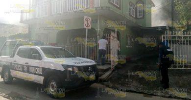 Conato de incendio en el centro de Gutiérrez Zamora