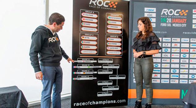 Definen enfrentamientos del Race Of Champions del fin de semana