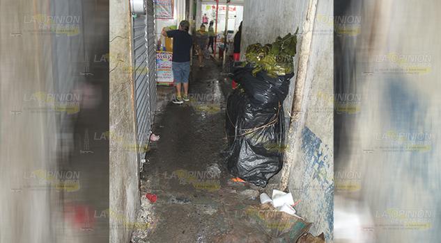 Desquebrajada la red sanitaria en el mercado Poza Rica