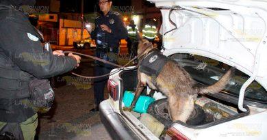 Detiene SSP a dos personas por delitos contra la salud en Xalapa (4)