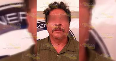 Detienen en San Luis Potosí a violador de localidad Francisco Z. Mena