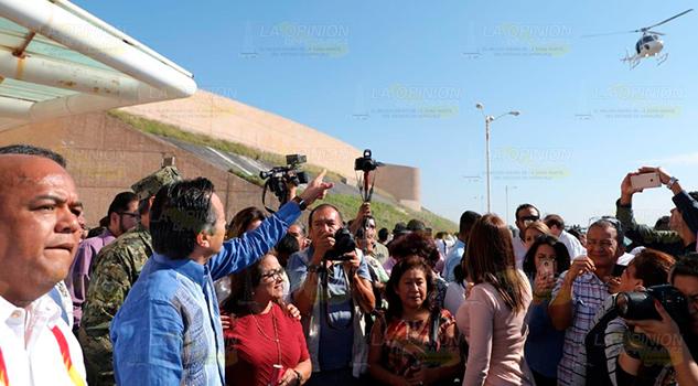Disminuyen homicidios y plagios; Gobernador de Veracruz