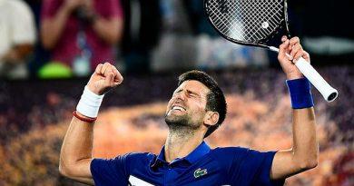 Djokovic llegó a Semifinales de Australia sin desgastarse; Nishikori abandonó