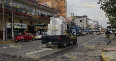 Doble sentido en la calle 8 Norte de Poza Rica