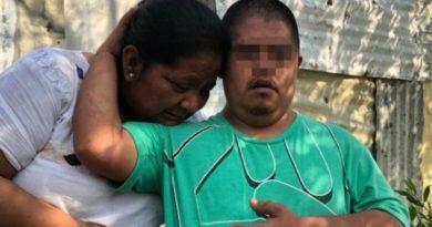Policía golpea a joven discapacitado en Veracruz; pensó que estaba tomado