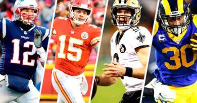 El calendario de la ronda divisional de los playoffs de la NFL