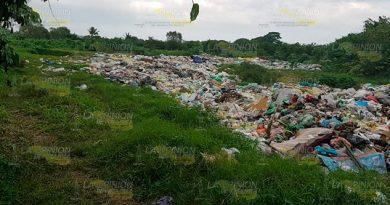 Exigen apoyo para quitar basurero del río Cazones