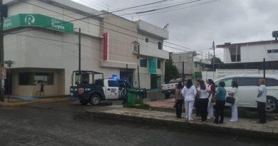 Fuga de gas provoca incendio en la clínica Reyes de la colonia Camacho
