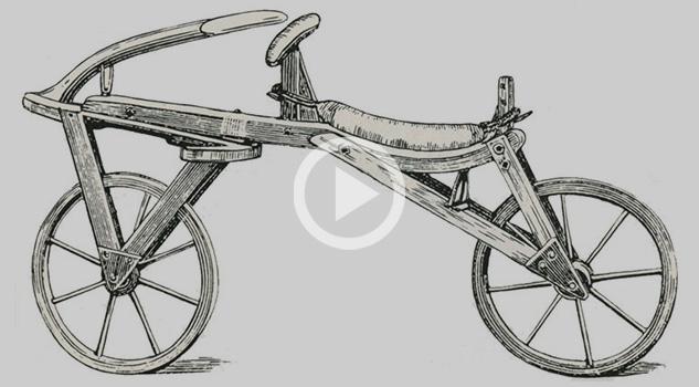 Esta es la historia de la biciclieta