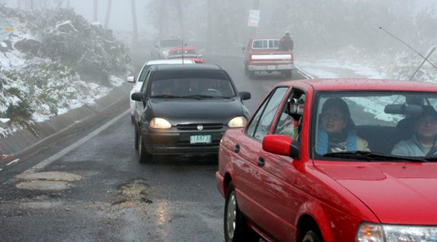 Ingreso de un nuevo frente frío dejará nevadas en estos estados