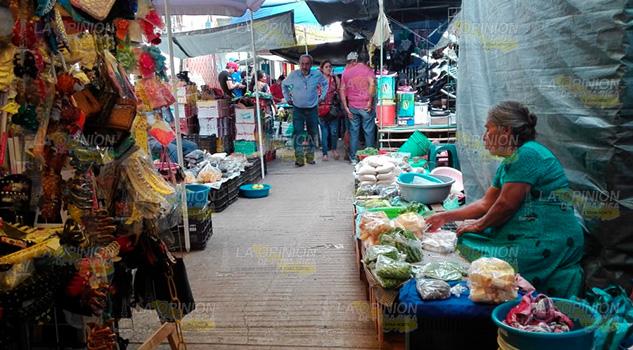 Inicia periodo crítico, advierten tianguistas en Cerro Azul