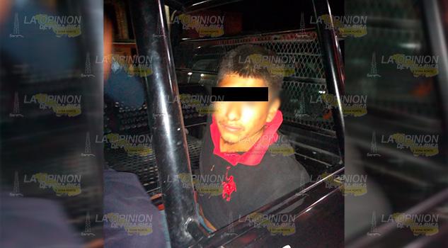 Interceptan a presunto vendedor de estupefacientes en Entabladero