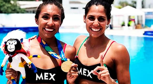 Joana Jiménez y Nuria Diosdado, la nueva pareja del nado sincronizado mexicano