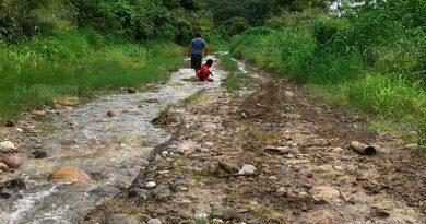 Mal estado de caminos provoca pérdidas a productores de Papantla