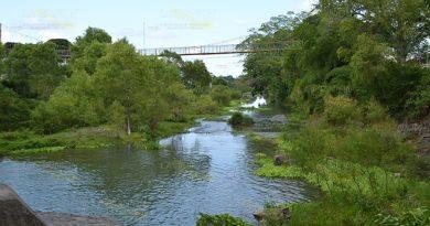 Monitorean afluente del río Tacochín en Naranjos, nivel preocupante